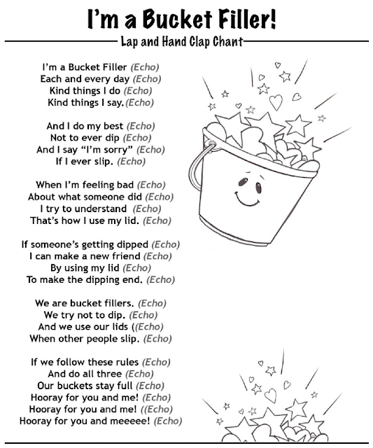 Have You Filled a Bucket Today?   Grade Onederful