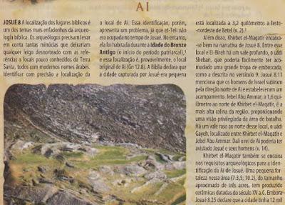 biblia de estudo arqueologica