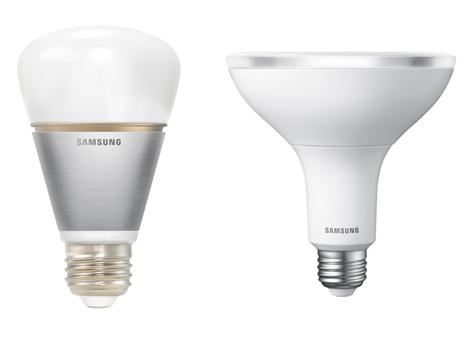 Samsung valt philips aan met slimme led lamp led nieuws for Philips slimme verlichting