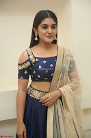 Niveda Thomas in Lovely Blue Cold Shoulder Ghagra Choli Transparent Chunni ~  Exclusive Celebrities Galleries 063.JPG