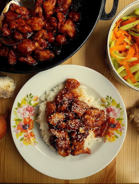 Kurczak generała Tso / General's Tso Chicken