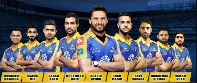 Karachi kings Player 2018