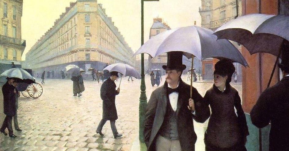 Sogno Dentro Un Sogno Gustave Caillebotte  Parigi in un