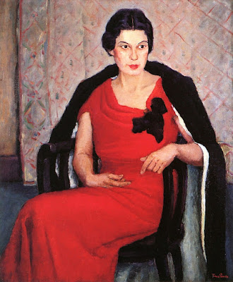 Tunis Ponsen - Portrait of Katherine Cornell