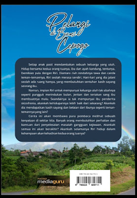 penulis Blog ingin share Buku novel inspiratif Novel edukatif inspiratif  Pelangi di Bumi Cepogo