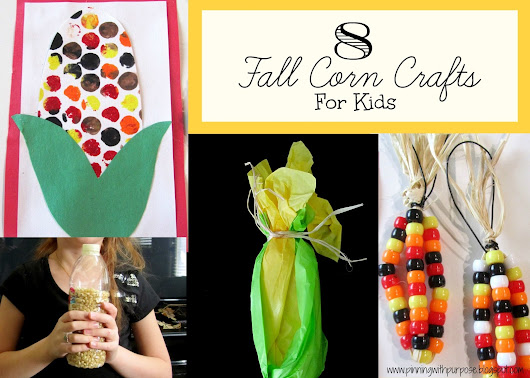 8 Fall Corn Crafts