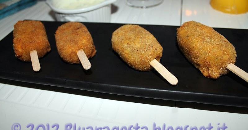 Crocchette di quaglia da passeggio con salsa allo yogurt e curry
