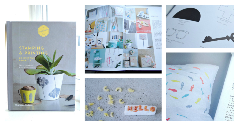 Craft Studio Books, make your own, Stamping and Printing