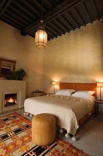 Home Decorating Ideas: Moroccan-style Bedroom Home