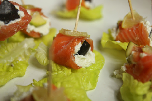 Fresh Figs, Smoked Salmon Wraps Gluten-free Organic Recipe