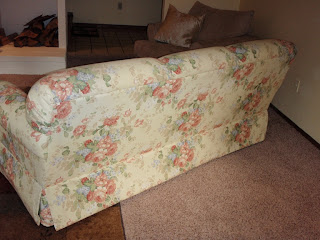 Unique Upon It Gig Harbor For Sale Bassett Floral Sofa