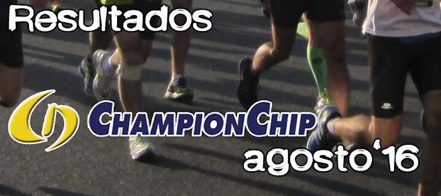Lliga Championchip Agosto 2016