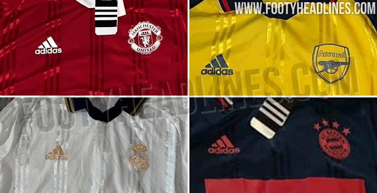 a944033d Update: Over the past couple of days all remaining Adidas 19-20 Icon  jerseys have been leaked, featuring the same template as the previously  known Juventus ...