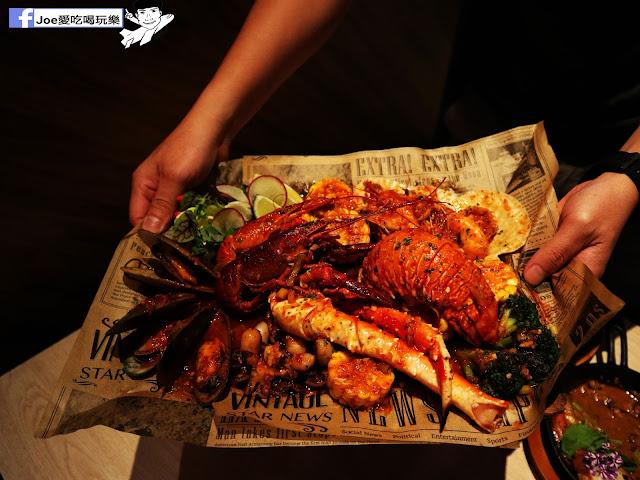 IMG 3764 - 熱血採訪│鐵克諾南洋風味手扒海鮮拼盤超豐盛!搭配超厚龍蝦痛風都快發作了