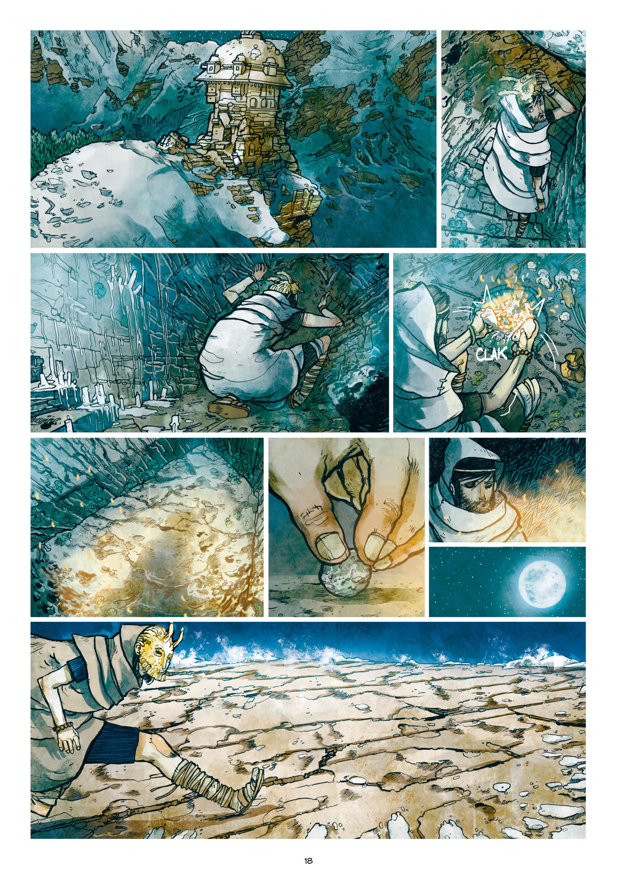 Read online Adrastée comic -  Issue #1 - 19