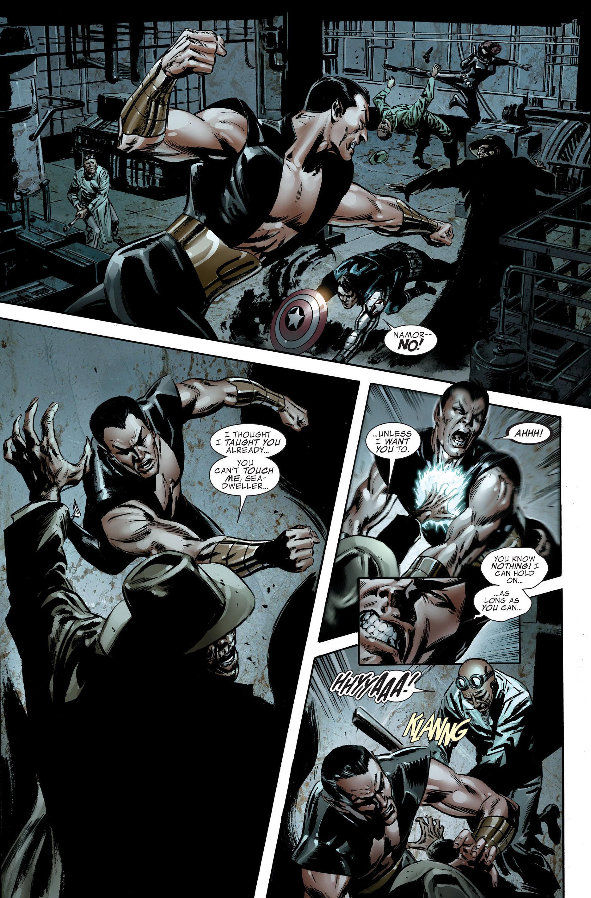 Read online Captain America (2005) comic -  Issue #48 - 16