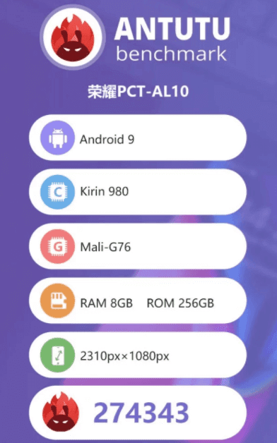 Honor V20 Will Feature 'The NINE' Liquid Cooling Technology With 8GB RAM, Kirin 980 And Android Pie 9