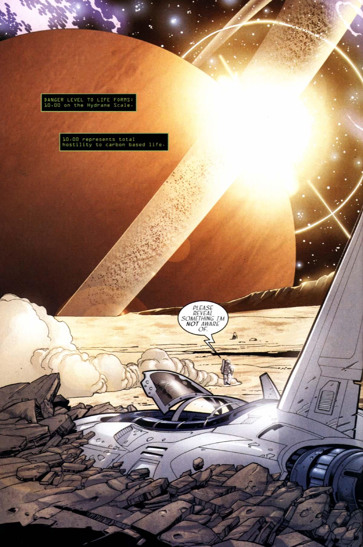 Read online Sigil (2000) comic -  Issue #21 - 4