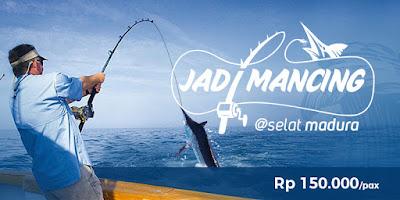 Wisata Mancing Ikan di Selat Madura