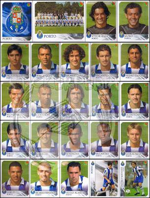 Porto panini portugal futebol 2003/04