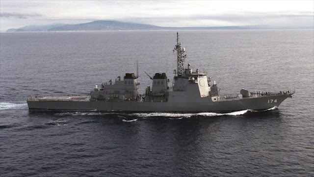 Japón enviará buques de guerra a la península coreana