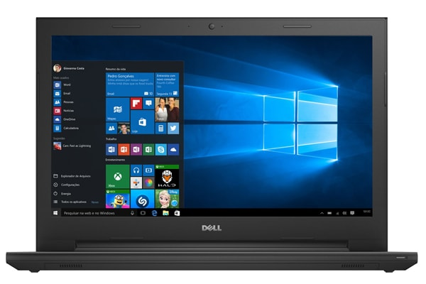 Notebook DELL i3 com 1.7 GHz de velocidade