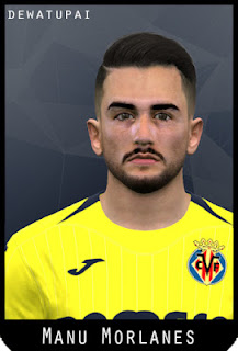 PES 2017 Faces Manu Mornales by Dewatupai