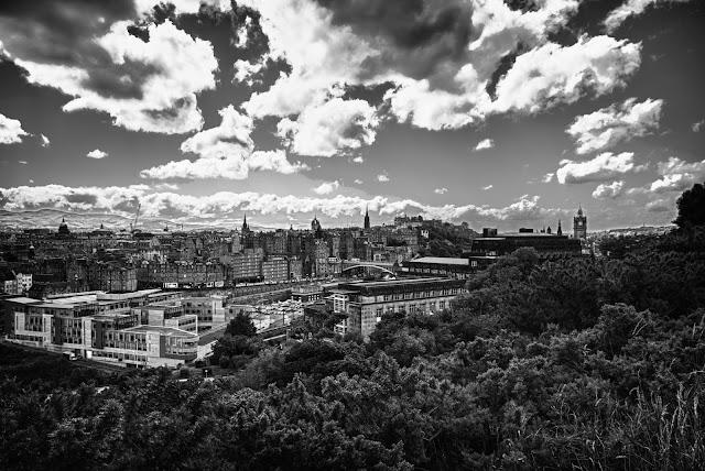 Vista da Calton hill-Edimburgo