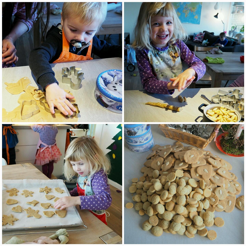 Julebag med børn i alderen 1-5 år - Kageklub ~ Home by Bianca