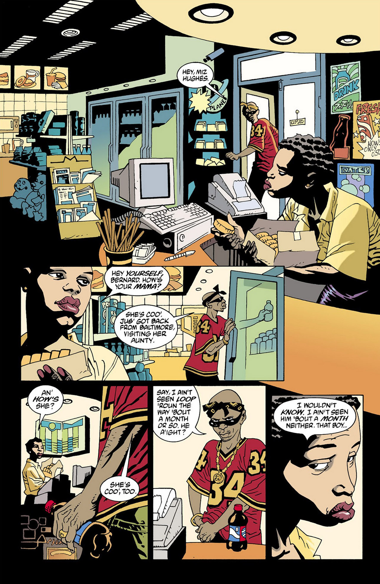 Read online 100 Bullets comic -  Issue #16 - 2