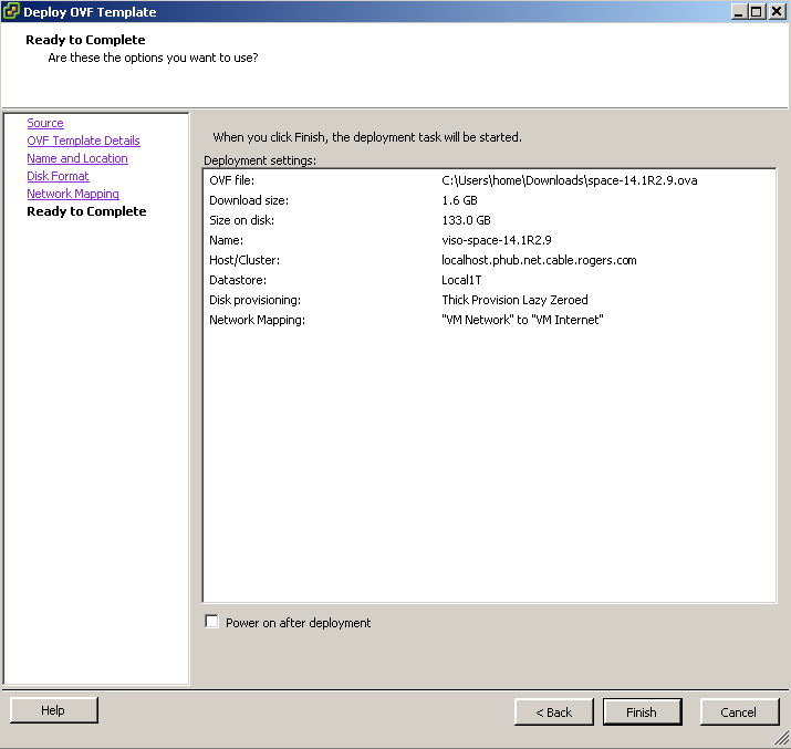 Install JUNOS Space Virtual Appliance at ESXi 5 5 – Cyber Security Memo