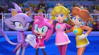 Princesse Daisy Gallerie D Images Mario Et Sonic Aux