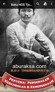 Download buku  tentang hos tjokroaminoto tokoh pergerakan nasionanl indonesia