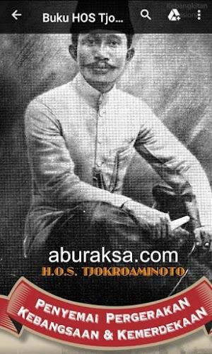 Download Buku Tentang HOS Tjokroaminoto, Tokoh Pergerakan Nasional Indonesia