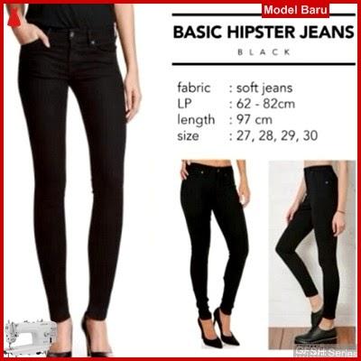 GFSH2029202 Setelan Hipster Hitam Terbaru Basic Jeans BMG