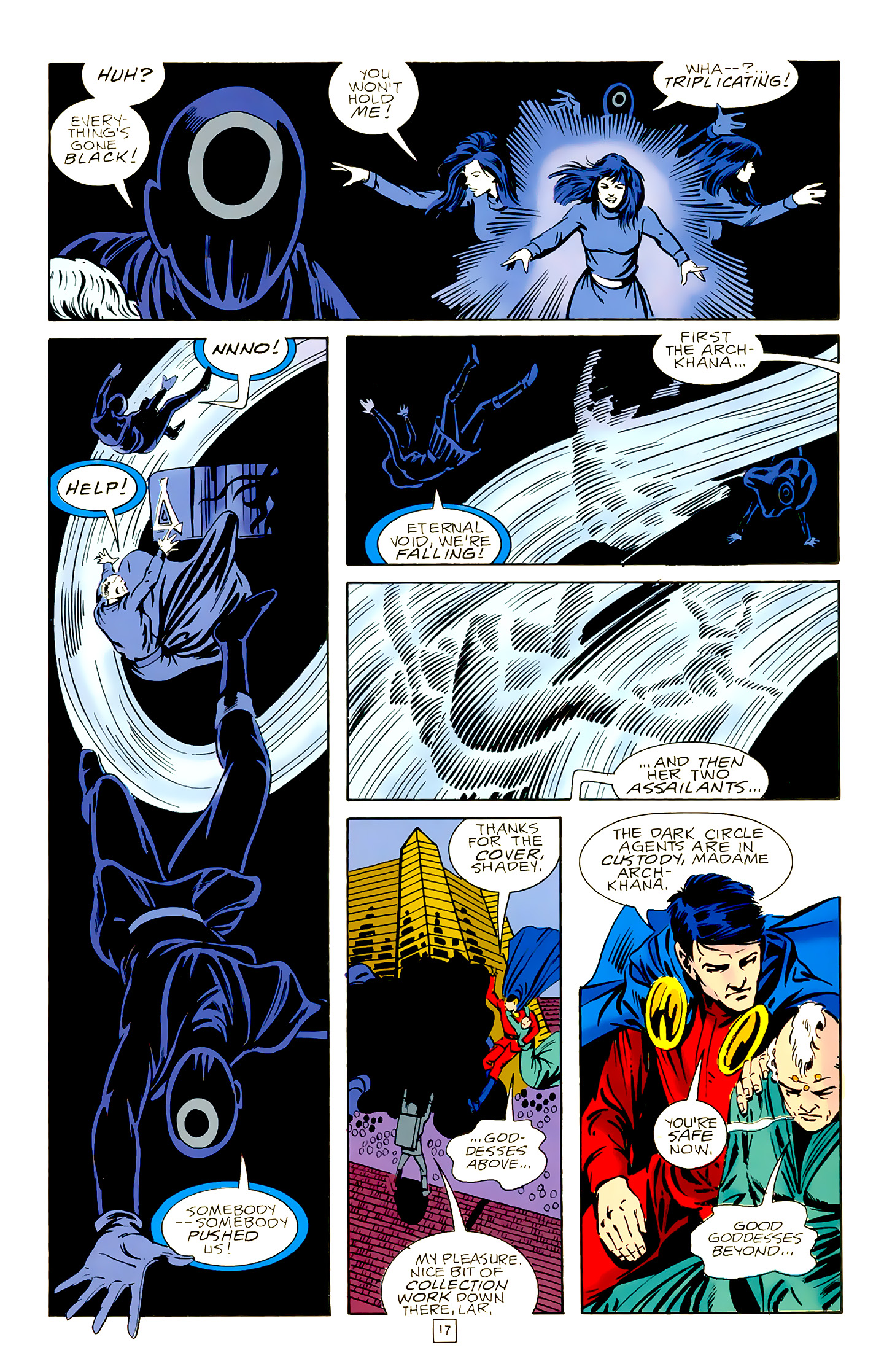 Legion of Super-Heroes (1989) 18 Page 17