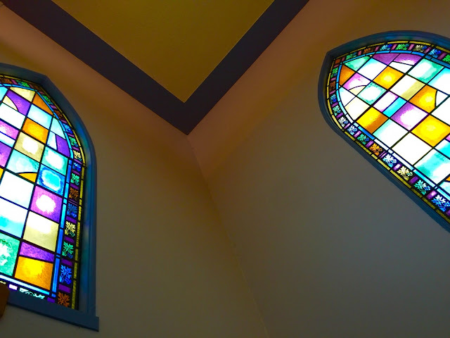 Stittsville United Church stained glass windows