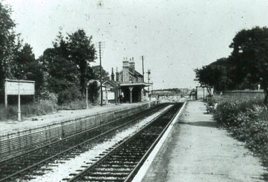 Fort Brockhurst station 1958