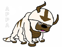 Appa Avatar Printable Kids Coloring Pages