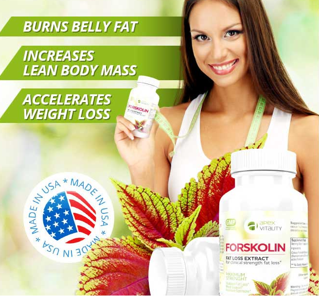 (ID:8670) APEX Belly Melt - Forskolin - 6 Pack