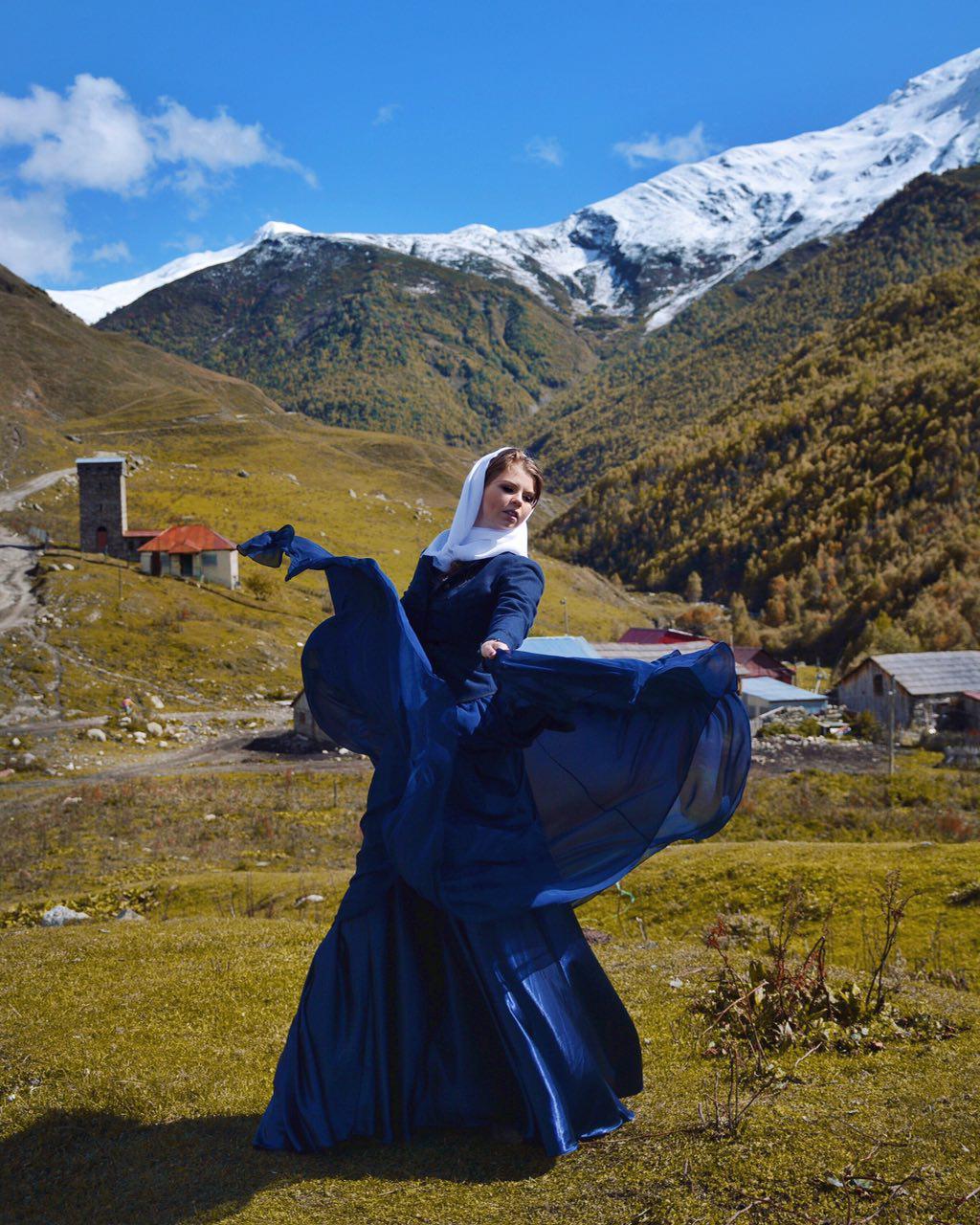 образ Грузинской девушки фотосессия