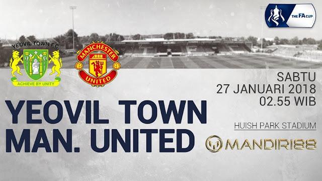 Prediksi Yeovil Town Vs Manchester United , Sabtu 27 January 2018 Pukul 02.55 WIB