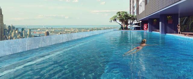 Bể bơi trên cao The Golden Palm