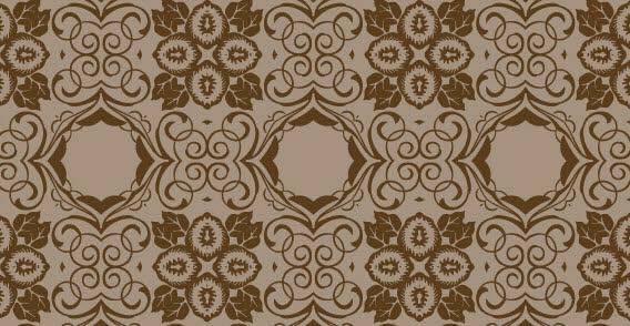 wallpaper motif clasic simetris