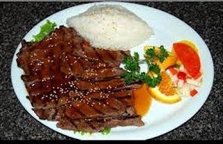 resep masakan daging teriyaki,cara memasak beef teriyaki saori,cara membuat beef teriyaki hokben,cara memasak teriyaki daging sapi,cara masak daging teriyaki,resep daging teriyaki hoka-hoka bento,