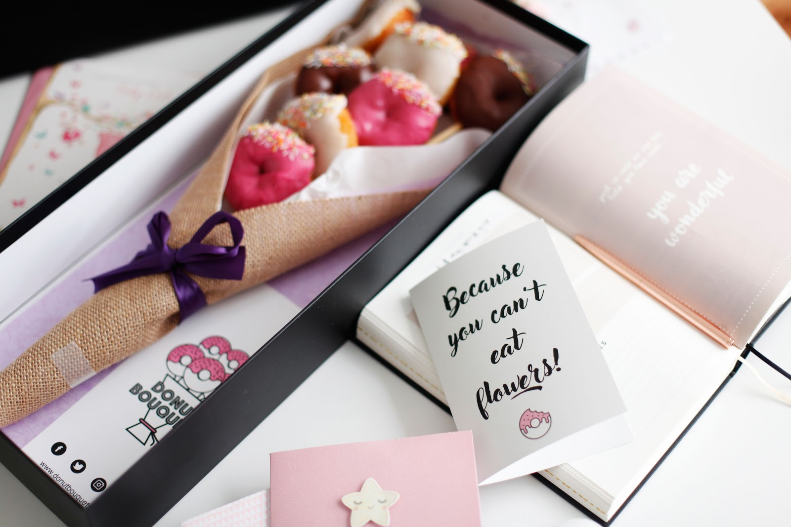 Donut Bouquets Delicious Gift Idea Slavabeautytips
