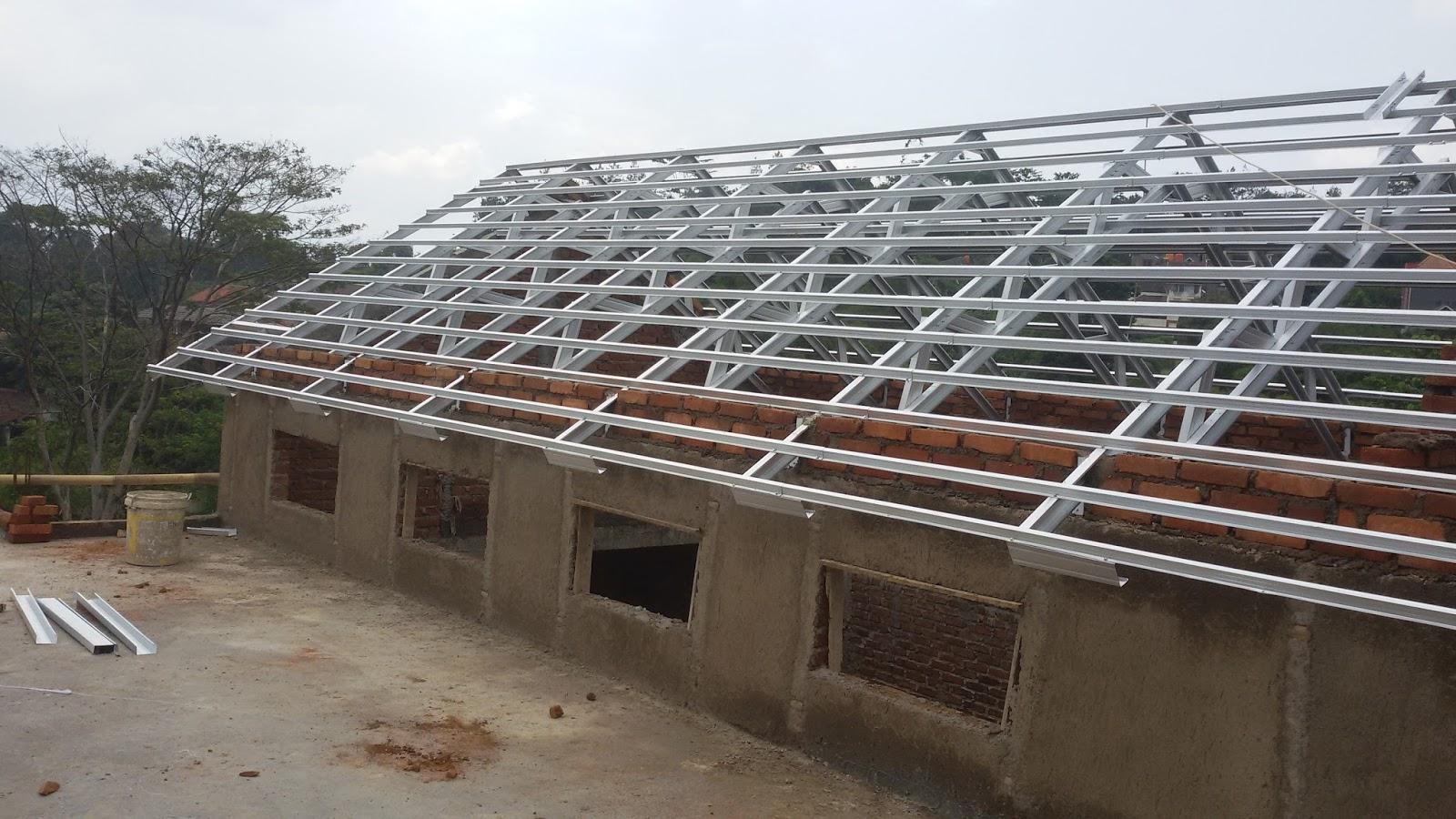 pasang baja ringan garut bandung jual dan atap murah