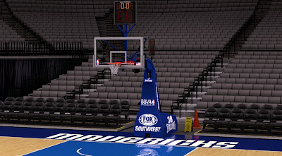 NBA 2K14 Dallas Mavericks Court Mod