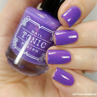 Tonic Polish Unicorn Pee Collection Your Vibe Attracts Your Tribe Swatches and Review