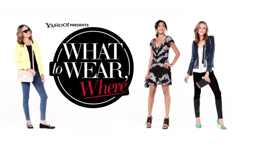 """6a4eeea5d866 This week we showed some Summer Weddings Looks for Less and today we d like  to share this video of """"What to Wear"""